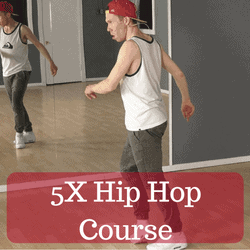 5X hip hop dance course