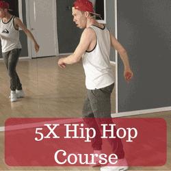 5X hip hop dance course