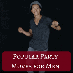 How to dance at a party for guys
