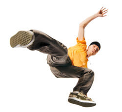 Breakdancing moves online