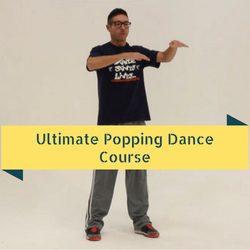 Learn to dance Popping dance