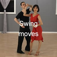 Swing dance moves