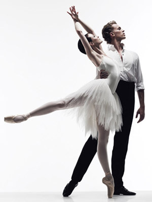 Ballet Terms on Basic Two Step Dance Demonstration