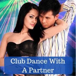 Club dance with a girl