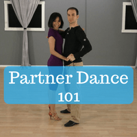Partner Dance on Foxtrot Steps For Beginners