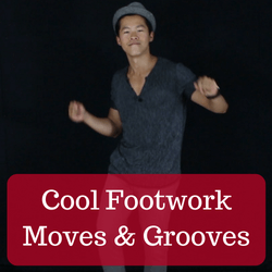 Cool footwork moves
